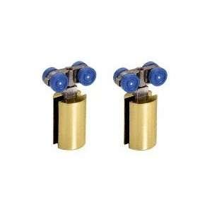HYD01BR CRL Brass Hydroslide Sliding Door Hanger Kit Home Improvement