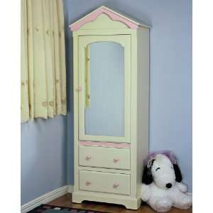 Doll House Collection Mirrored Door Cabinet Home