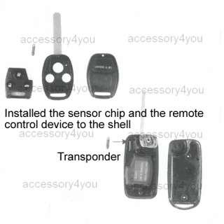 FLIP Folding Key Remote for Audi A2/A3/A4/A6/A8