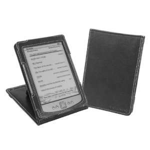 October 2011) Nappa Leather (Flip Stand) Cover Case   Black