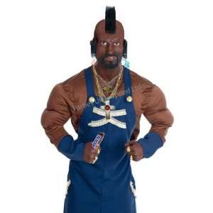 Mr T (A Team) 16pc Deluxe Fancy Dress Costume   LARGE Toys & Games