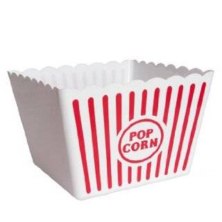 Plastic Popcorn Containers   Set of 4 Everything Else