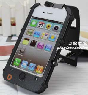 Black Full Protective Hard Case Cover Skin for iPhone 4 4S