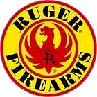 Ruger firearms gun weapon sign decal 3diameter