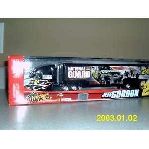 Red Box Jeff Gordon #24 Black Flames Silver Dupont