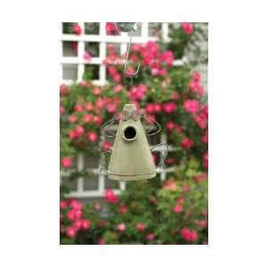 Frog Birdhouse Green   (Bird Houses)