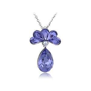 Modern Pineapple Reborn AB Swarovski Crystal Element Necklace Jewelry