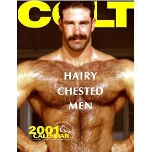 Colt Haiy Chested Men Calendar 2001: Colt Studio: Books