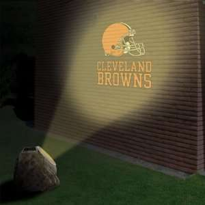 Cleveland Browns Logo Projection Rock: Sports & Outdoors