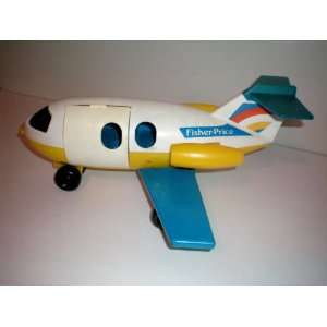 1980 Fisher Price Little People Airplane    as shown Everything Else