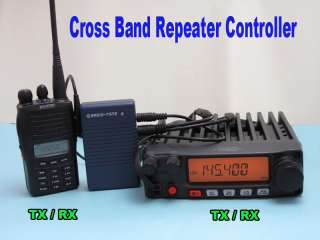 Radio Tone Full Duplex Cross Band Repeater Controller