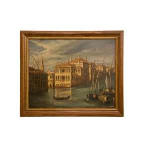 Oil Painting  High Quality Painting Venice 19 X23   Hand Painted on
