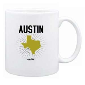 New  Austin Usa State   Star Light  Texas Mug Usa City: