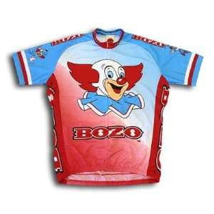 Bozo the Clown Team Cycling Jersey: Sports & Outdoors