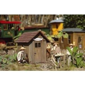 LOG CABINS   PIKO G SCALE MODEL TRAIN BUILDINGS 62261