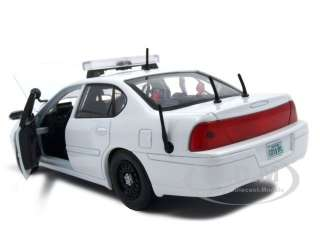 2002 CHEVROLET IMPALA BLANK UNMARKED POLICE CAR 124
