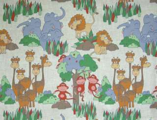 Juvenile Animal LG Print Decorative Fabric / Draperies