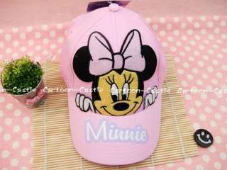 Minnie Mouse Girl Hat Baseball Cap Visor Pink 20154