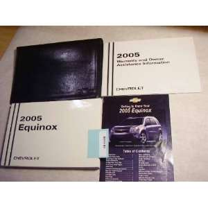 2005 Chevy Chevrolet Equinox Owners Manual Chevrolet Books