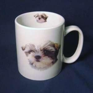 Cute Shih Tzu Puppy Dog Large 14 Ounce Coffee Mug