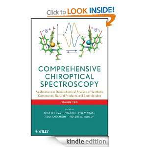 Comprehensive Chiroptical Spectroscopy, Applications in Stereochemical