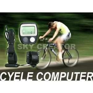 Bicycle Bike LCD Cycle Computer Speedometer Odometer
