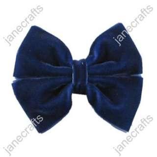 Velvet Pinwheel Girl/Baby/Toddler Hair Bows wholesale 12pcs
