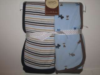 CARTERS DOG PUPPY LAYETTE & BLANKET CAN BE PERSONALIZED