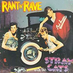 THE STRAY CATS Rant N Rave LP SEALED ROCKABILLY