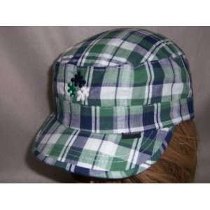 Peter Grimm Autism Awareness Puzzle Piece Military Hat Cap
