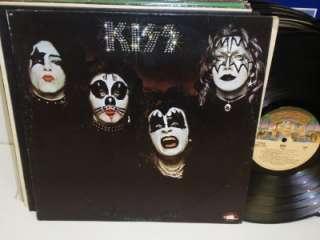 KISS Self Titled S/T LP Casablanca NBLP 7001 Debut Vinyl Album Record