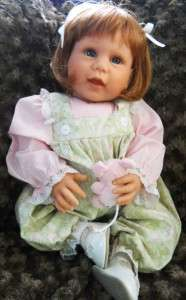 Lee Middleton 20 Vinyl/Cloth Baby Doll, So Sweet Happy Baby, Great