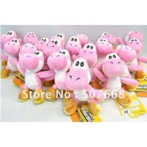 super mario bros yoshi plush anime 4 keychain 200pcs/lot Toys & Games
