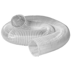 POWERTEC 70111 4 Inch x 10 Feet Flexible PVC Dust Collection Hose