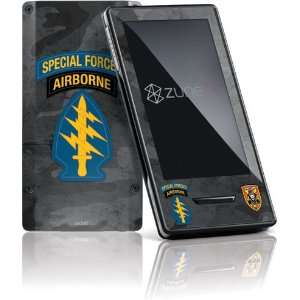 Special Forces Airborne skin for Zune HD (2009)
