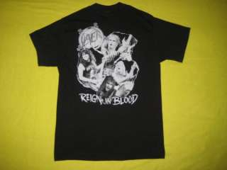 1986 SLAYER REIGN IN PAIN VINTAGE TOUR T SHIRT BLOOD CONCERT THRASH