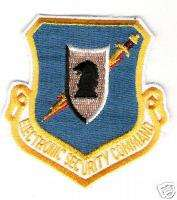 AIR FORCE USAF ESC ELECTRONIC SECURITY COMMAND PATCH