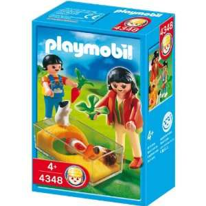 Playmobil Guinea Pig Pen: Toys & Games