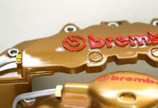 Brake Caliper Cover Brembo Mercedes Benz E C CLK Gold