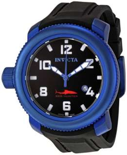 general interest invicta 1548 sea hunter stainless steel blue watch