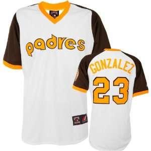 Adrian Gonzalez Majestic Cooperstown Replica San Diego Padres