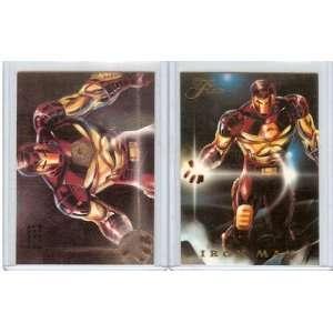 1994 FLAIR MARVEL MARVEL UNIVERSE, POWER BLAST IRON MAN, 3