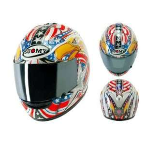 Suomy Spec 1R American Eagle Full Face Helmet Medium