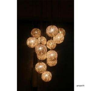sweet light 12V grappolo chandelier by catellani and smith
