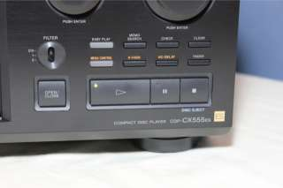 Sony ES 300 CD Compact Disc Player Changer CDP CX555ES 027242571341