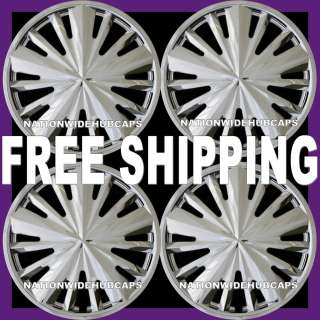 14 SET OF 4 CHROME Hub Caps Full Wheel Covers Rim Trim Cover for