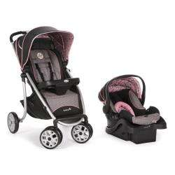 Safety 1st AeroLite Sport Travel System in Eiffel Rose