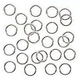 Heavy Sterling Silver 6 mm 20 gauge Open Jump Rings (Case of 25