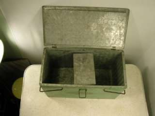 Metal Antique Kitchen Dairy Ice Box COOLER Attractive Strong Design!