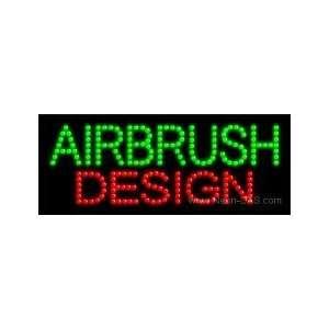 Airbrush Design LED Sign 8 x 20: Home Improvement